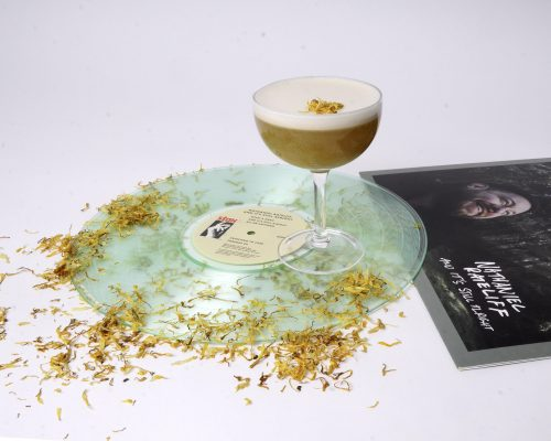 The Marigold Sour is on the drink list at the Block