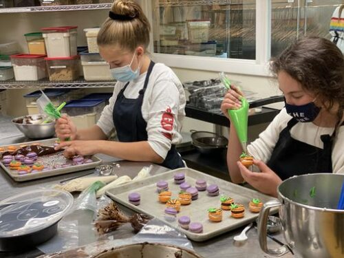 Cooks get creative as Newton culinary studio offers both in-person and virtual experiences