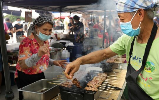 The Sunday Thai street food market is back and bustling at the Buddhist Center of Dallas