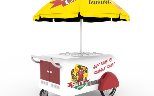 L.A.'s First 'Legal' Street Food Vending Tamal Cart Will Cost Around $7,500. Here's a First Look at the Revolutionary Design ~ L.A. TACO