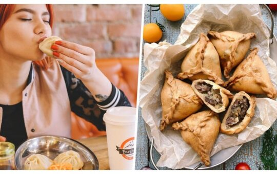 What does Russia's ethnic street food look like?